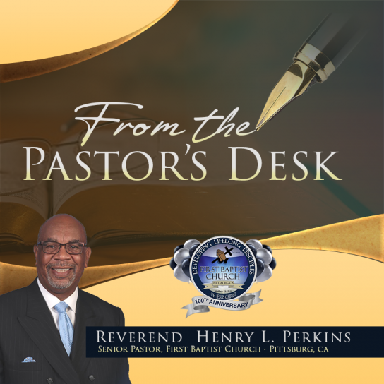 from the pastors desk