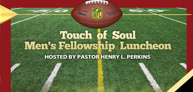 touch of soul mens fellowship luncheon